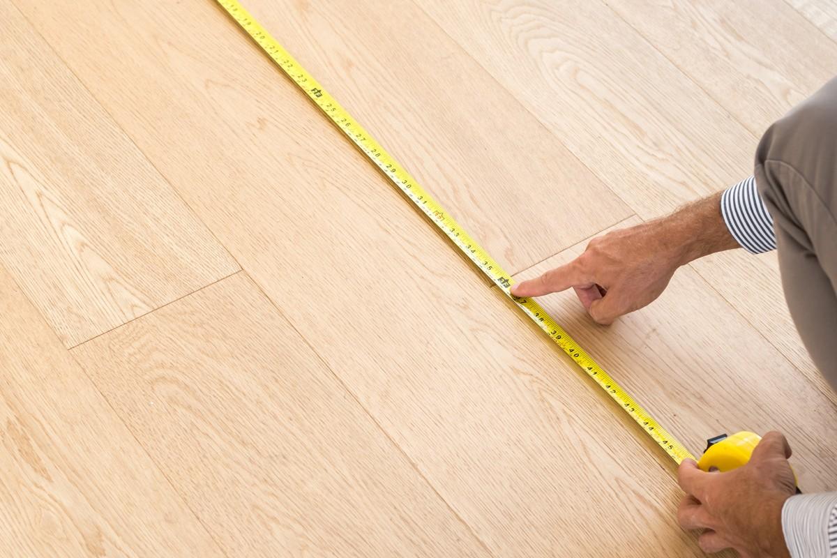 measurement of flooring