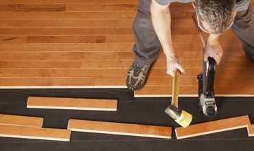 hardwood installation | West River Carpets
