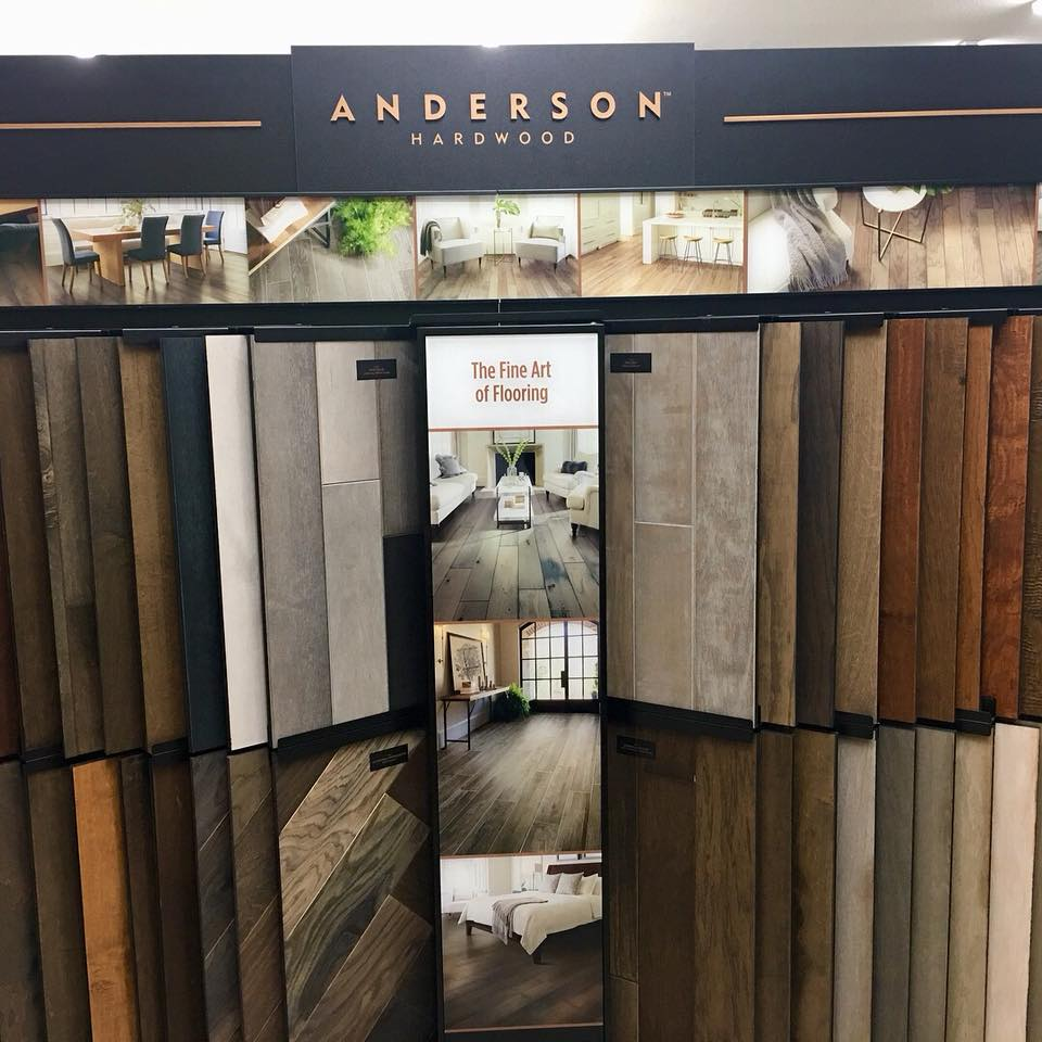 West River Anderson Tuftex Display | West River Carpets