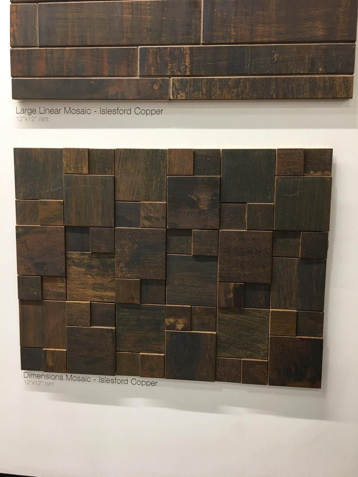 Tile Dimension Displays | West River Carpets