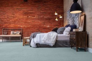 Brick wall design of bedroom | West River Carpets