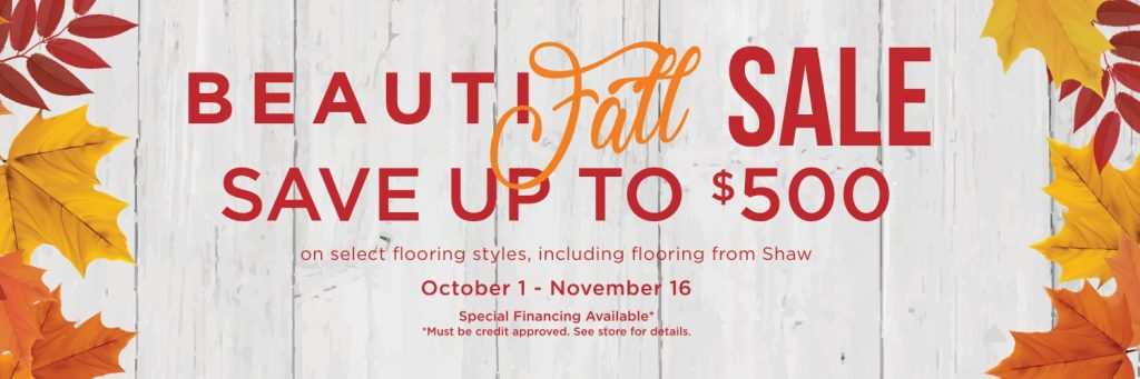 Beautifall sale banner | West River Carpets