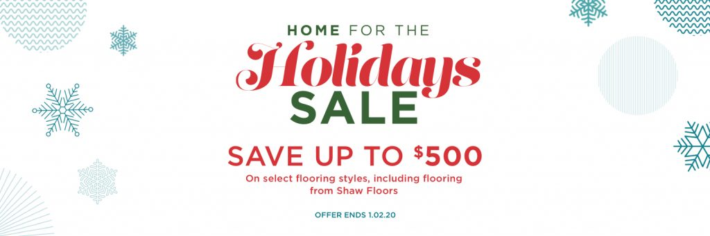 Home for the holidays sale | West River Carpets