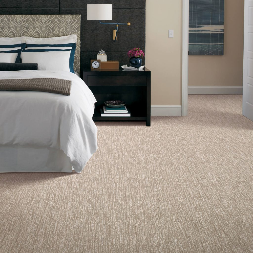 New carpet in bedroom | West River Carpets