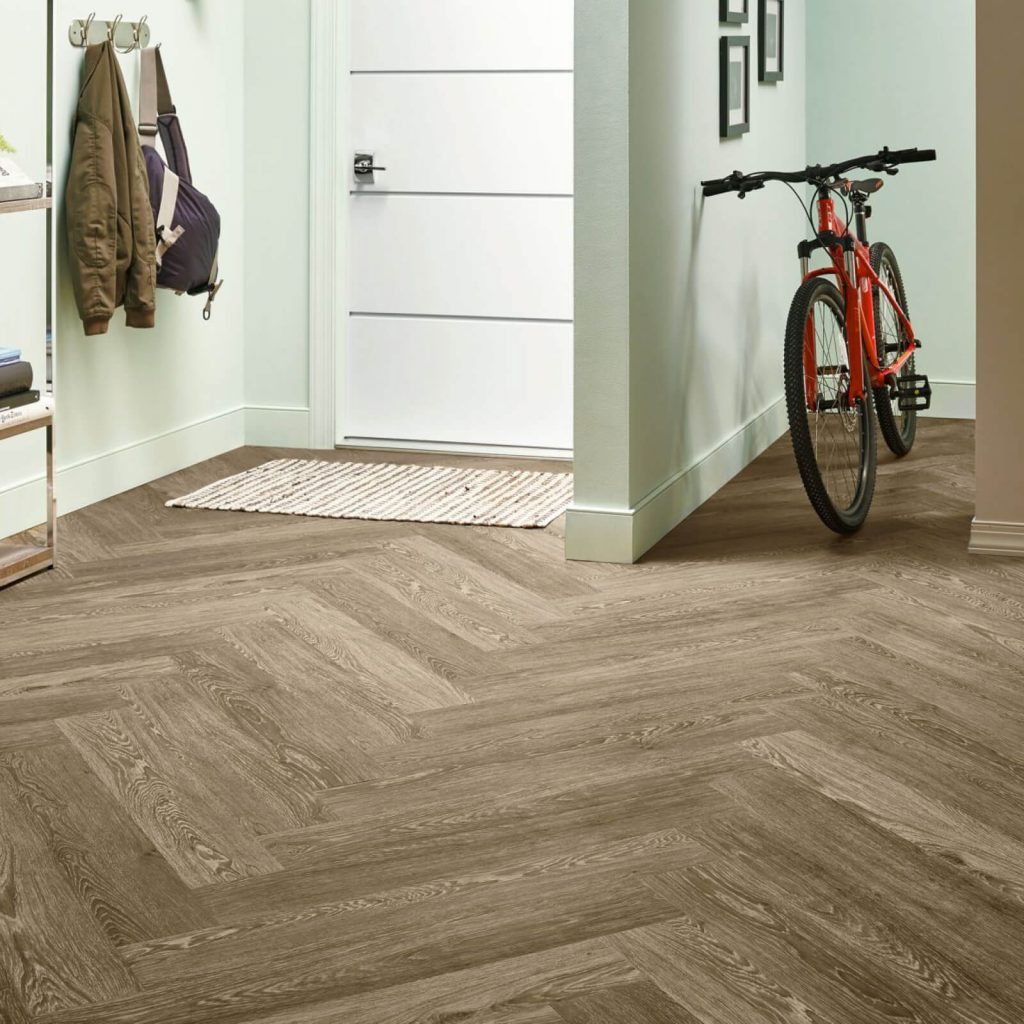Bicycle on flooring | West River Carpets