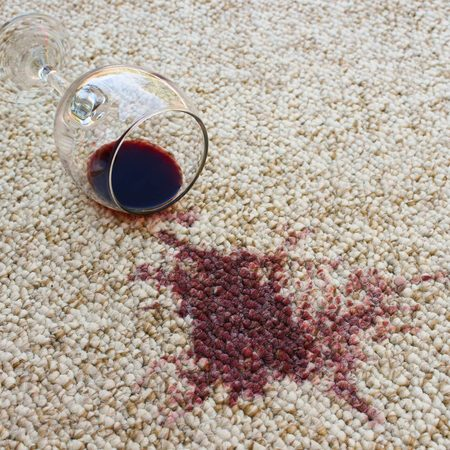 Wine stain on Carpet | West River Carpets