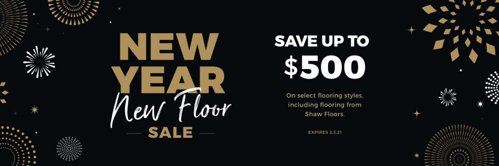 New Year New Floors Sale | West River Carpets